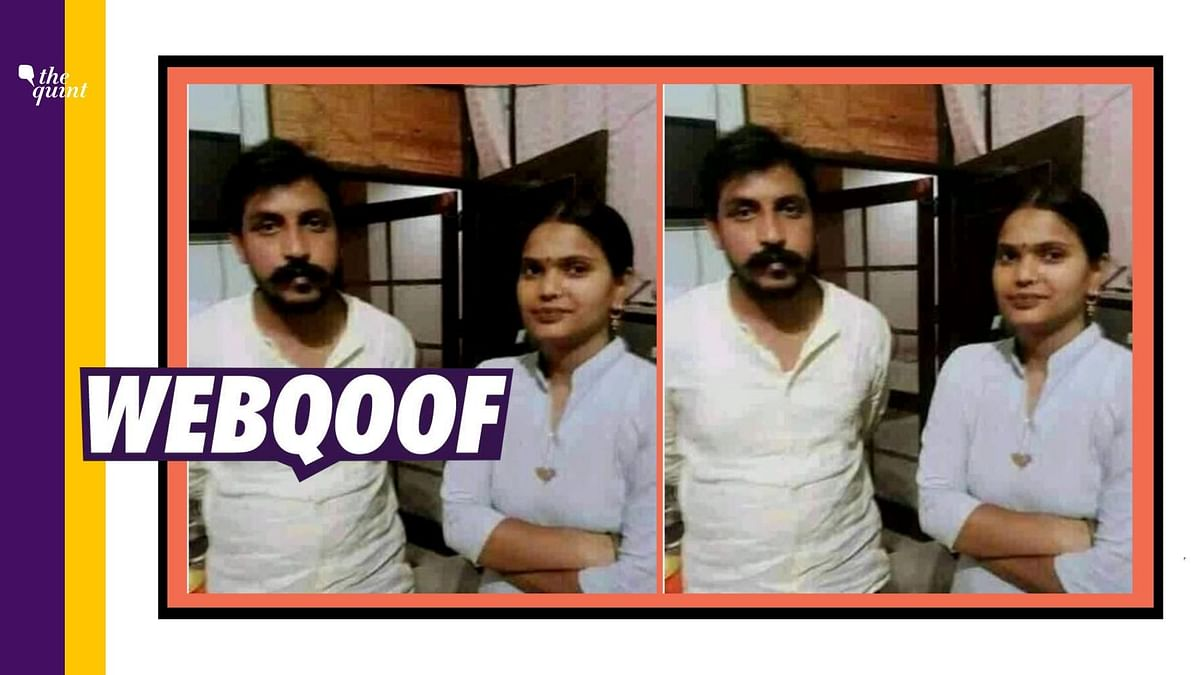 An image of Chandrashekhar Azad standing with a woman is being circulated on social media with several users identifying this woman as the alleged 'Naxal Bhabhi' from Hathras.