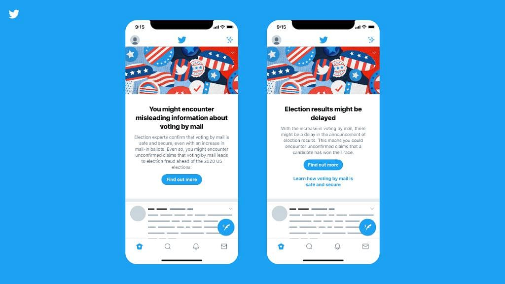 Twitter Launches  Warnings Over US Election Misinformation, Delays