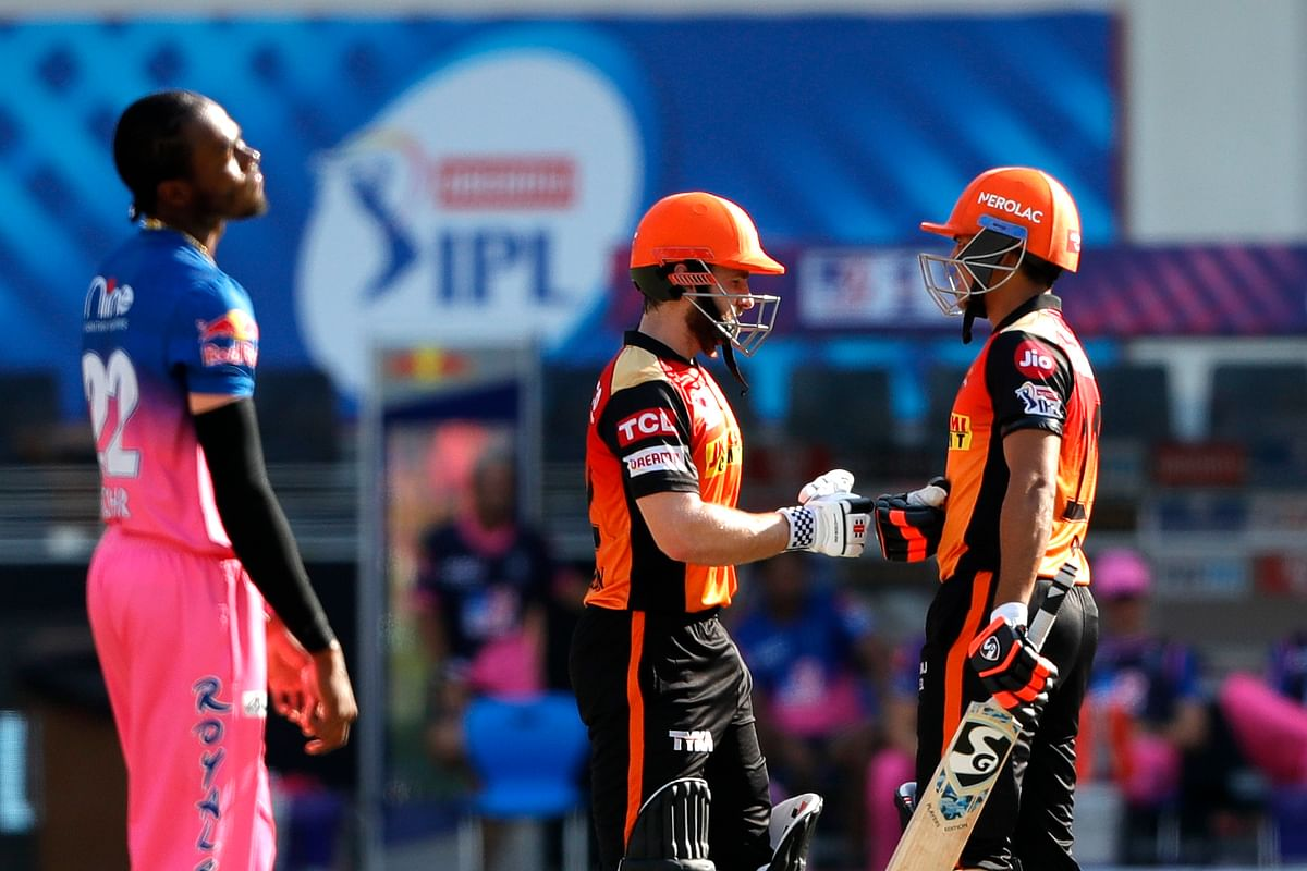 Williamson (12-ball 22*), along with Priyam Garg (8-ball 15) smashed 35 runs in the last two overs.