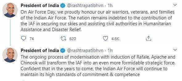 IAF Day: Rafale's 1st Appearance; Bhadauria Lauds Ladakh Response