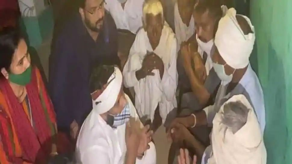 AAP MLA Kuldeep Kumar had visited the Hathras rape victim's family four days after announcing that he was COVID-19 positive.