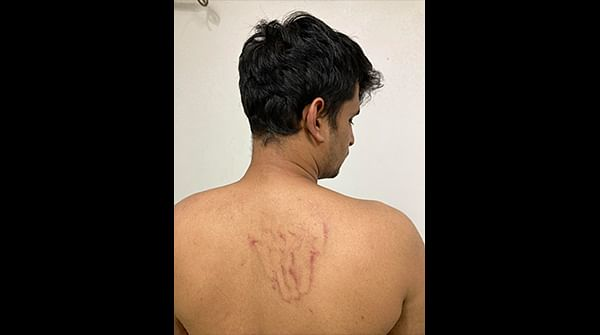 A journalist with a leading magazine and some students from the Delhi University were assaulted by Delhi police on Friday