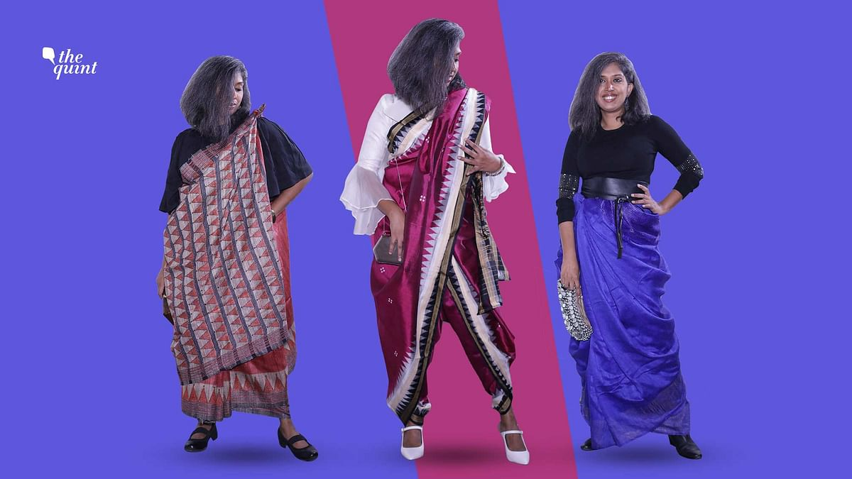 This Durga Puja Wear the Saree With a Twist