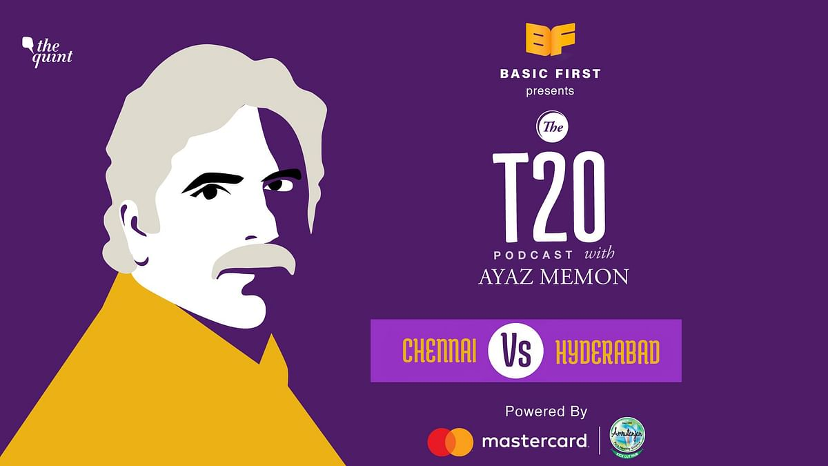 On Episode 29 of The T20 Podcast, Ayaz Memon and I talk about Chennai's 20-run victory over Hyderabad on Tuesday night in Dubai.