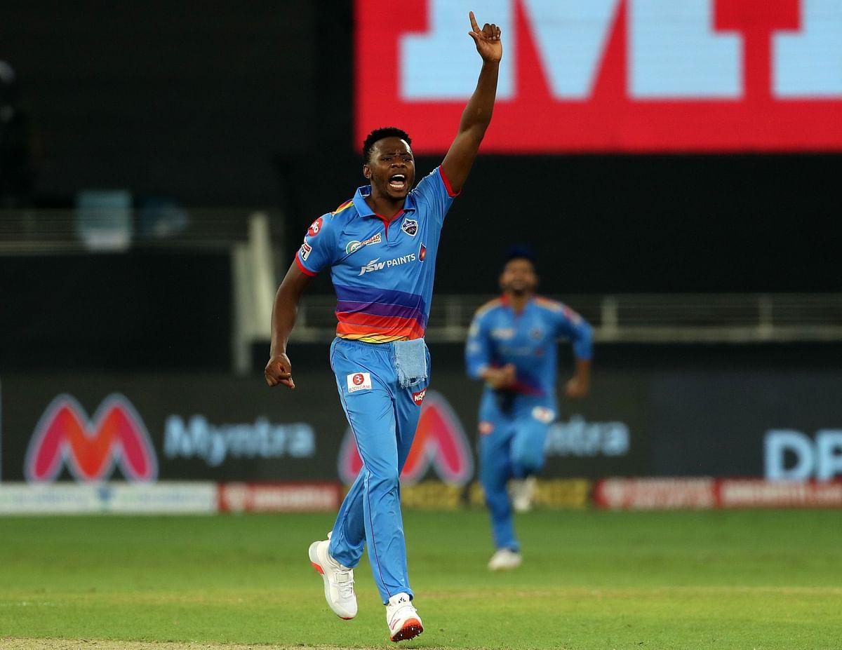 Delhi Capitals' Kagiso Rabada took 4-24 after starting his wicket column with Virat Kohli's dismissal