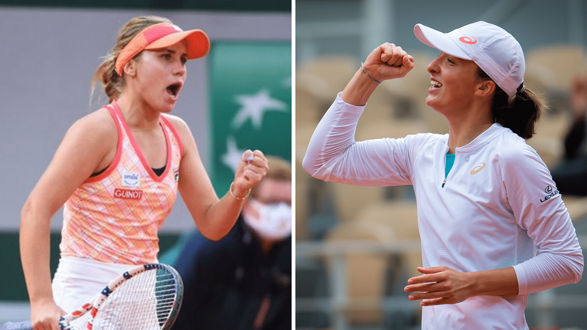 French Open: Aus Open Champ Sofia to Face Polish Teen Iga in Final