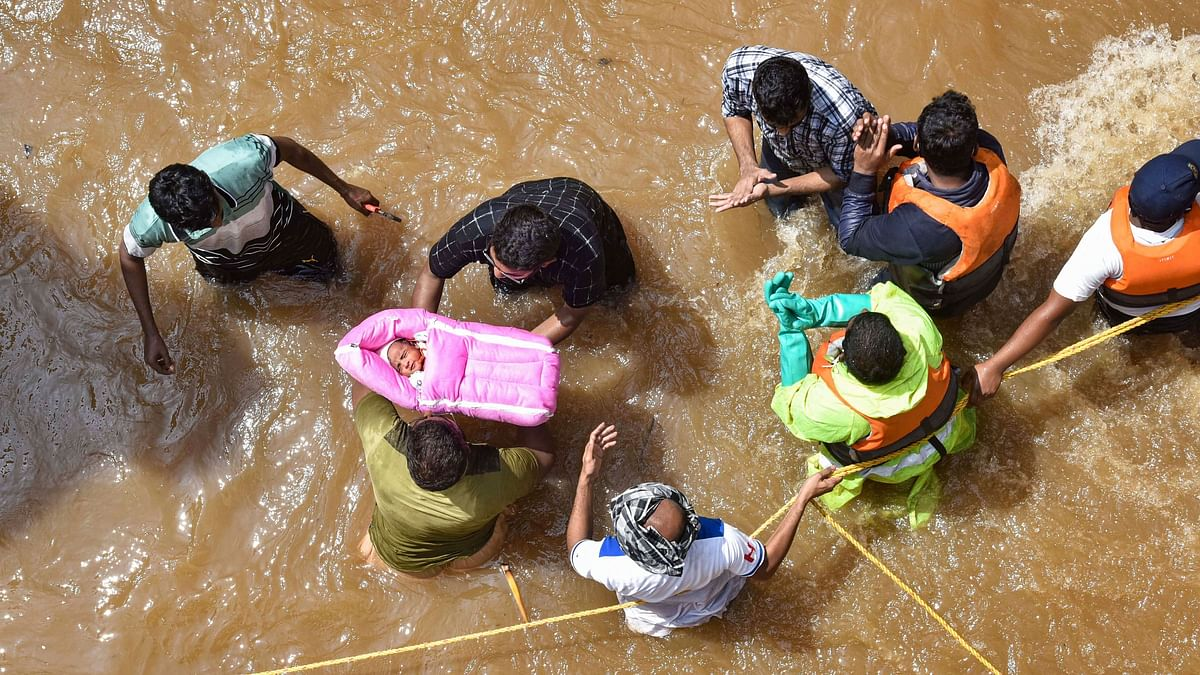 Army's Flood Relief Teams on Standby in Hyderabad & Secunderabad