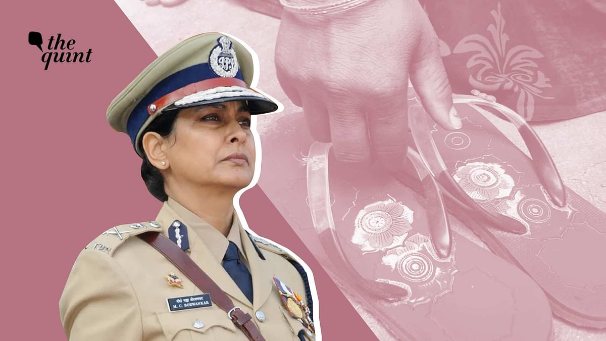 Retired IPS officer Meeran Borwankar.
