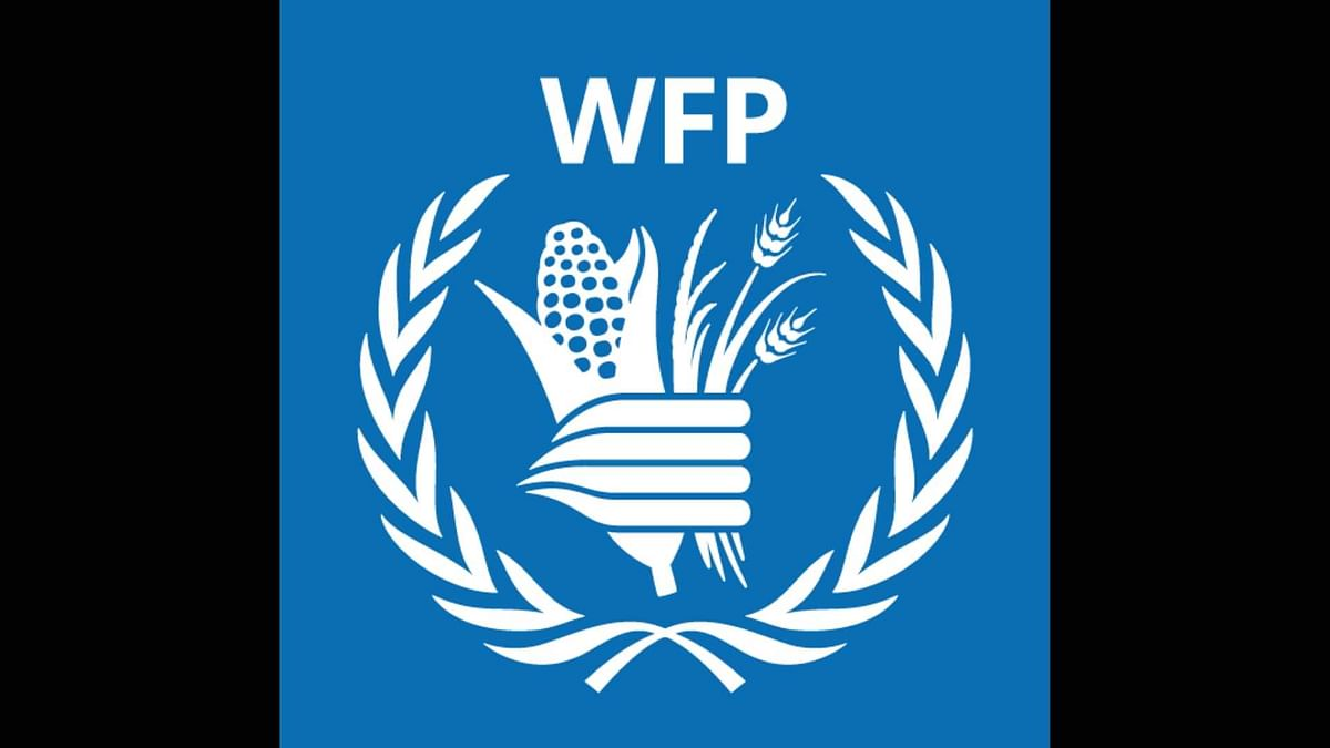 "The WFP has been awarded ""for its efforts to combat hunger, for its contribution to bettering conditions for peace."""
