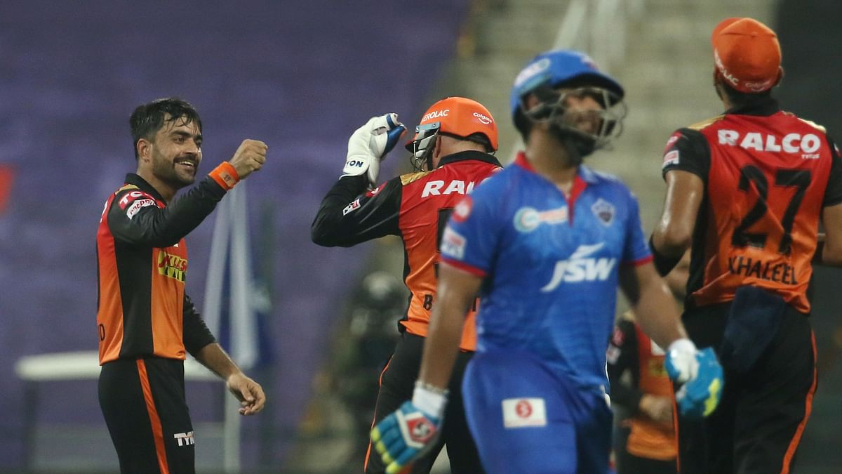 Sunrisers Hyderabad defeated the Delhi Capitals by 15 runs, first time they met in this IPL.