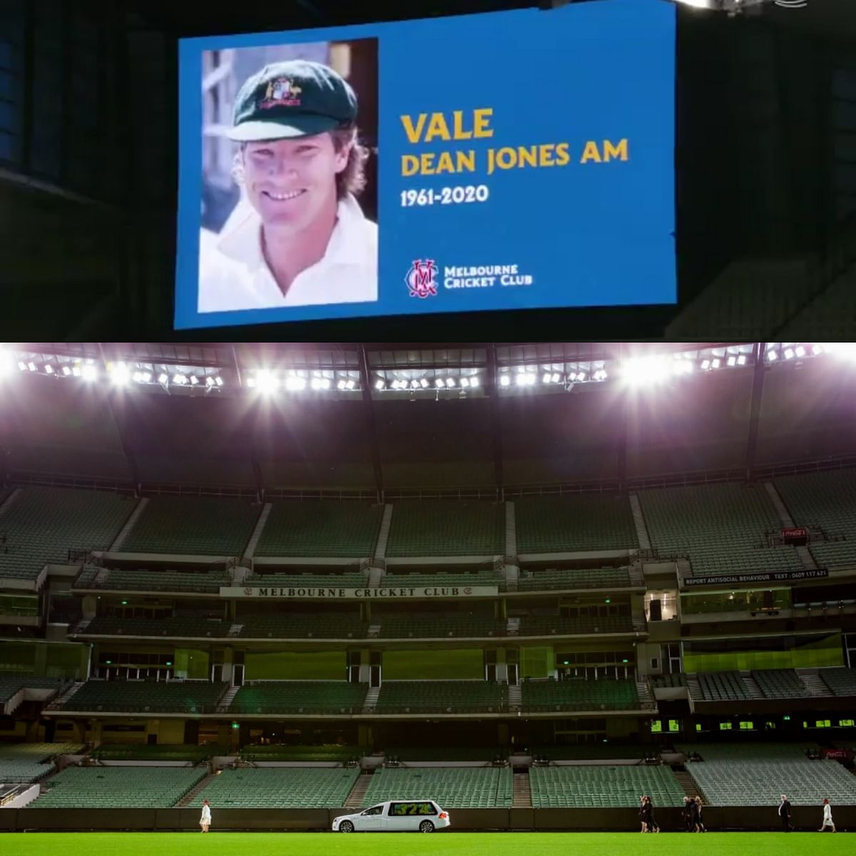 Dean Jones' Final Lap at the MCG
