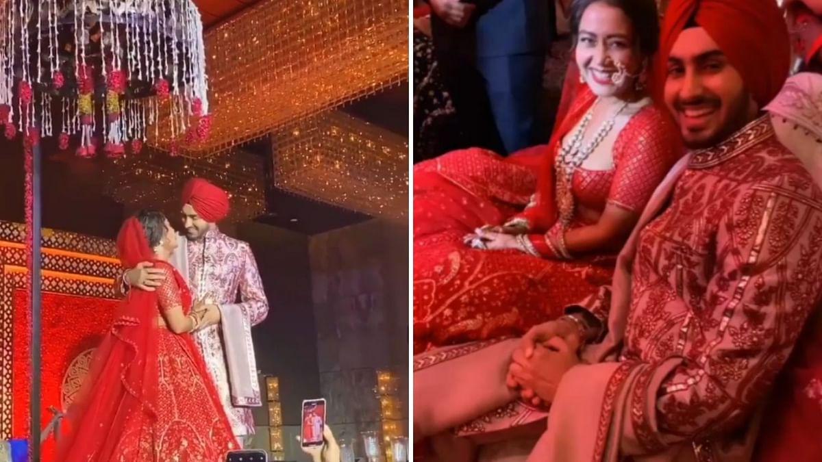 Neha Kakkar & Rohanpreet Singh Tie The Knot