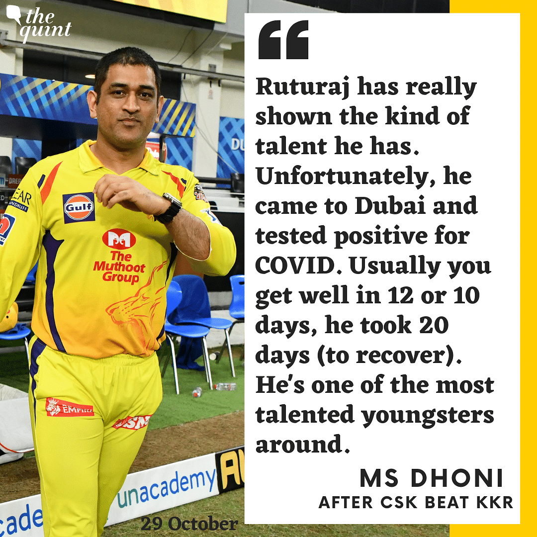 Ruturaj Gaikwad One of the Most Talented Youngsters Around: Dhoni