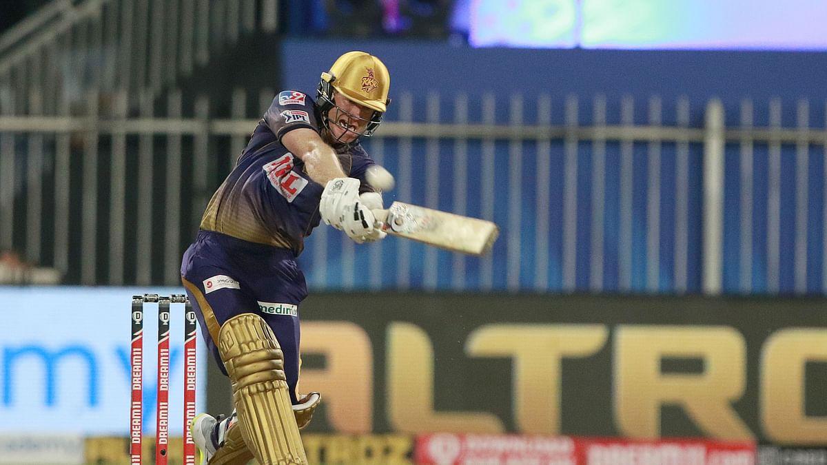 Eoin Morgan scored 44 runs in just 18 balls against DC.