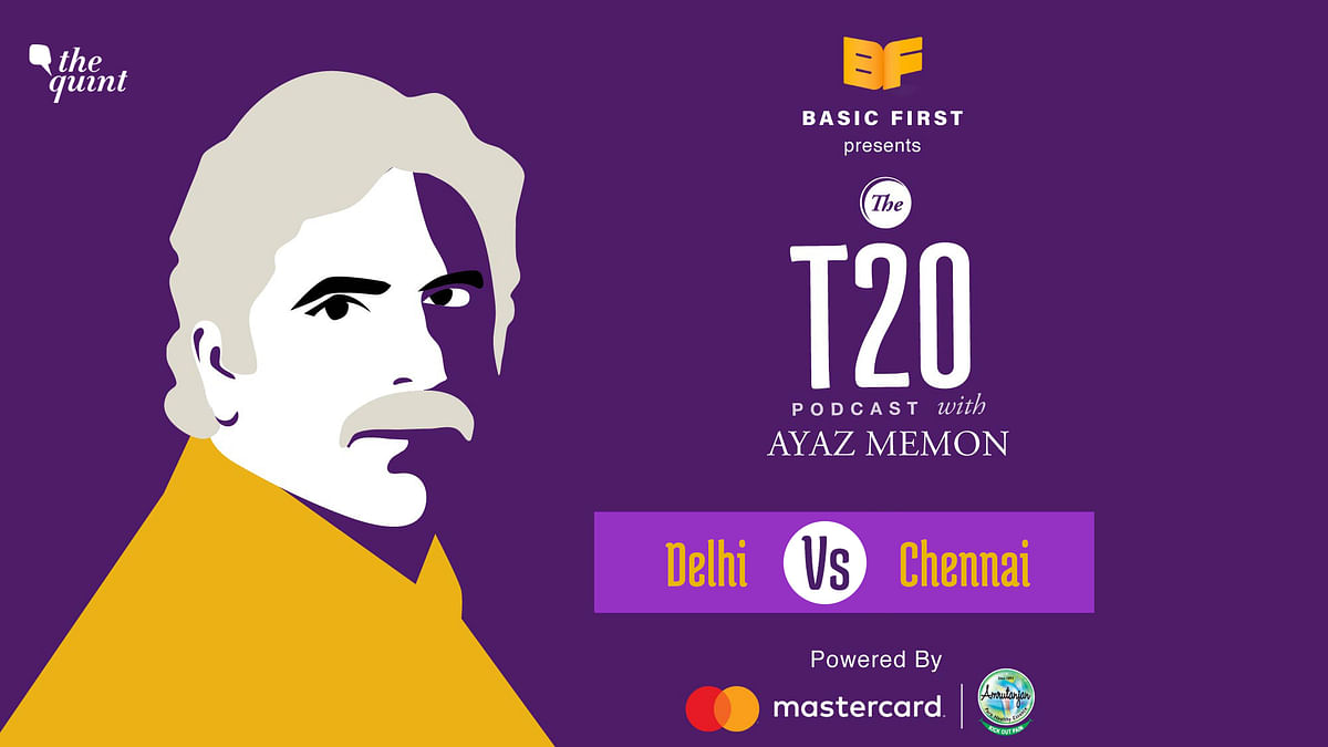 On Episode 34 of The T20 Podcast, Ayaz Memon talks about Delhi's last-over victory over Chennai in Sharjah.