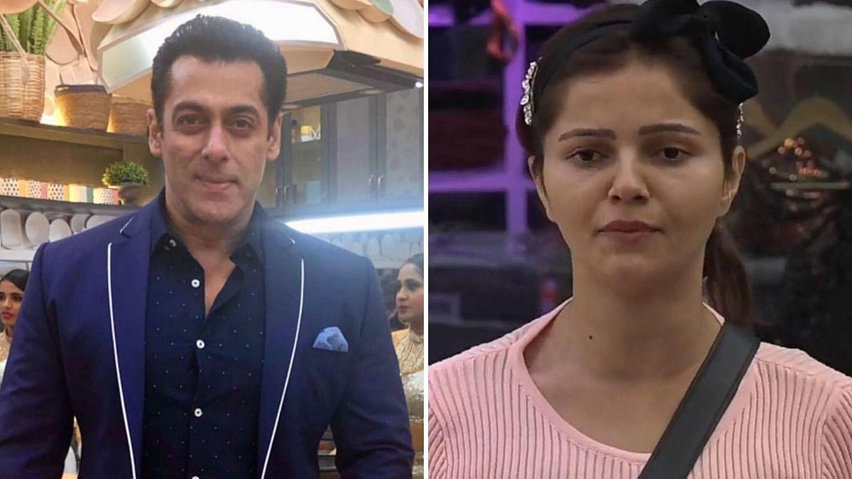 Salman Khan gets upset with Rubina Dilaik.