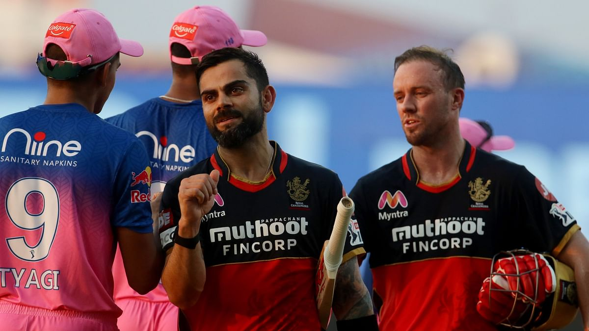 'Welcome Back, Captain': AB to Virat as RCB Celebrate  Win