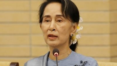 File photo of Aung San Suu Kyi.