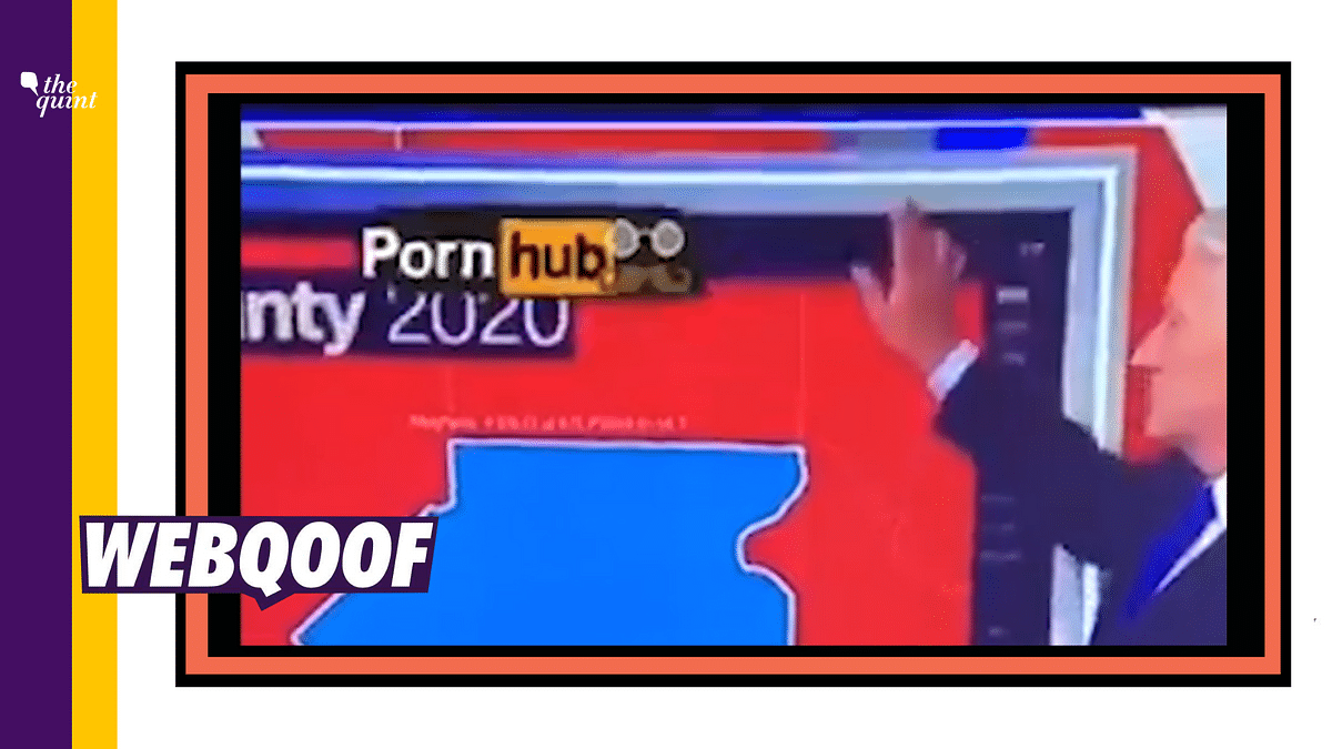 PornHub Logo on CNN During US Elections Broadcast? Look Again!
