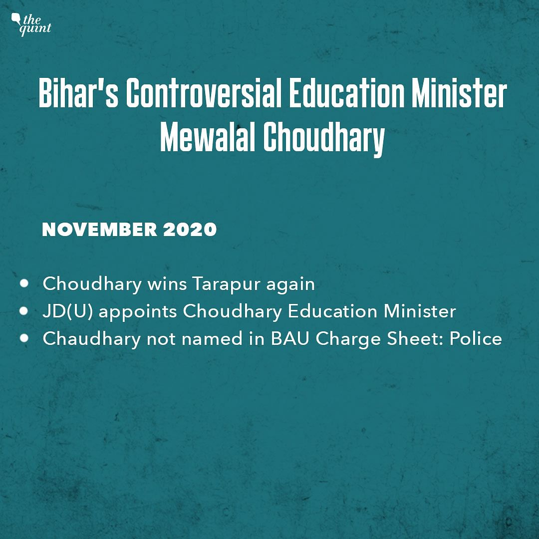 Why Bihar's New Education Minister Mewalal Was Forced to Resign