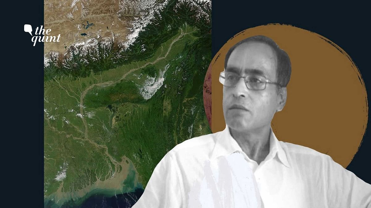 MLA Sherman Ali Ahmed (in photo) caused a stir by proposing a 'Miya museum', for the Bengali-origin Muslims of Char-Charporis, Assam. Map of Brahmaputra river valley used for representational purposes.