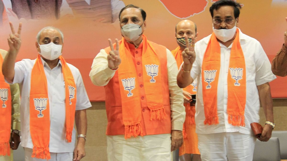 'Trailer for Polls Ahead': Gujarat CM as BJP Wins in All 8 Seats