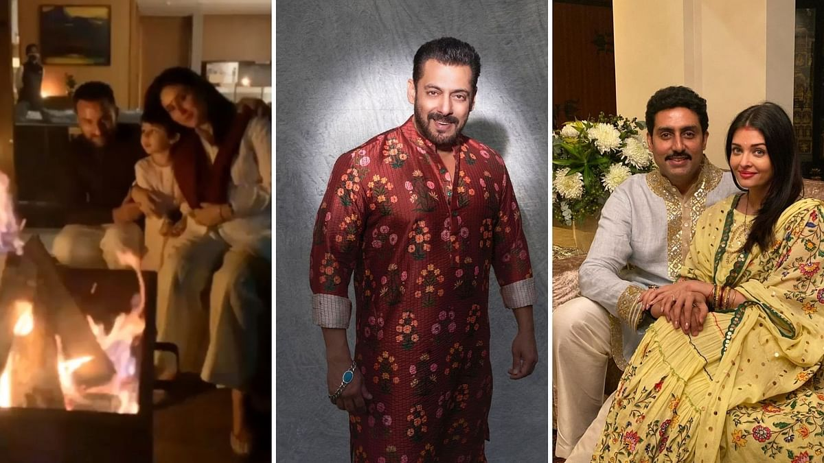 Saif, Kareena, Salman, Abhishek & Others Send Diwali Wishes
