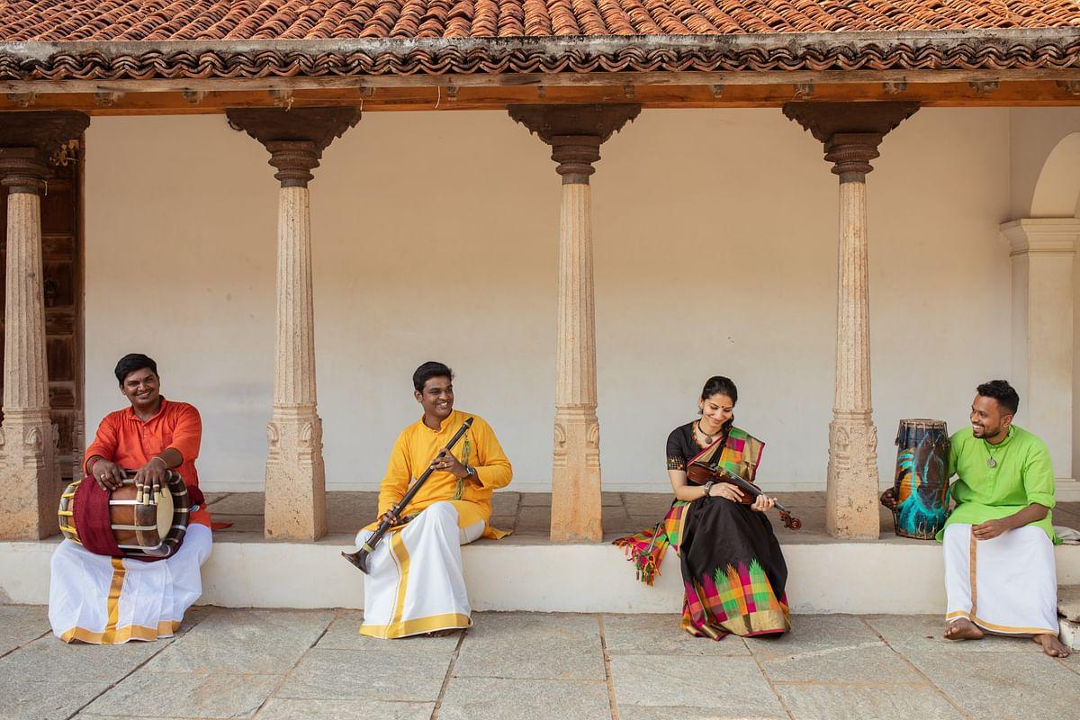 Rise, a musical production conceptualised by a Chennai-based Carnatic ensemble 'A Carnatic Quartet.'
