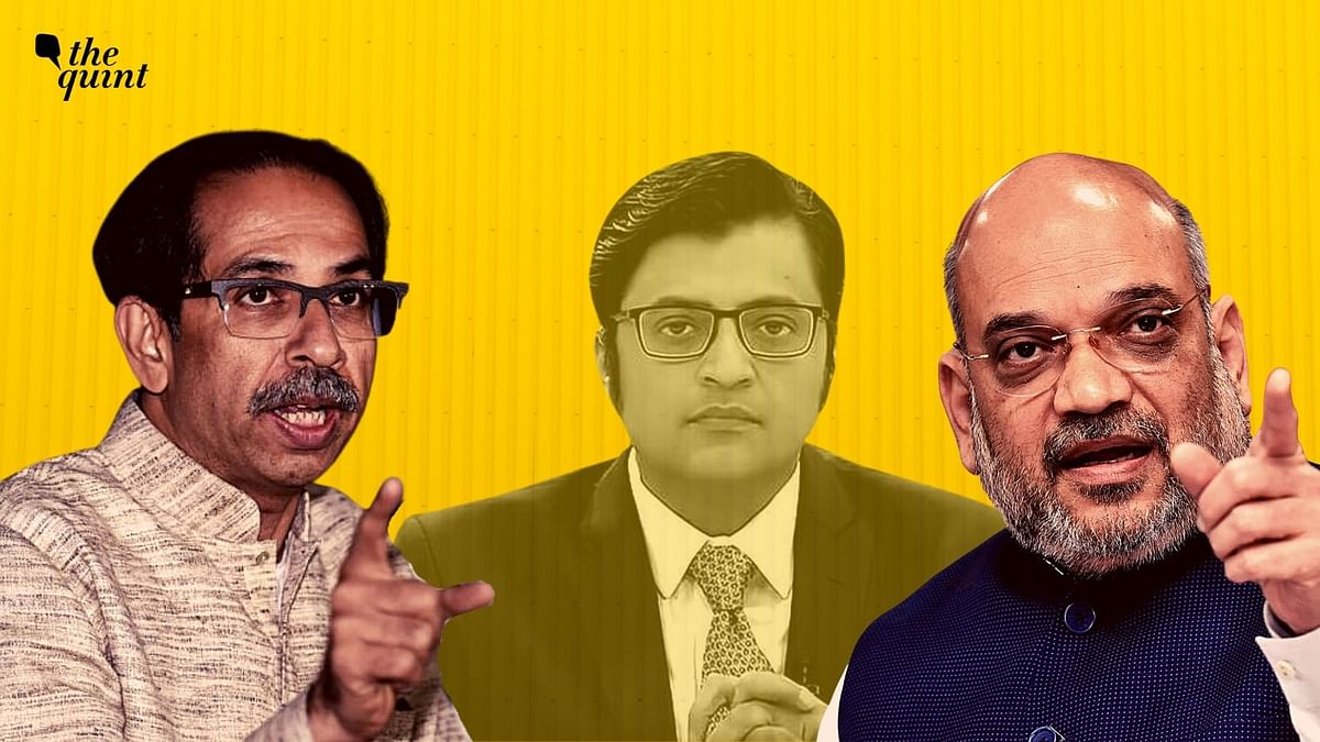 The Shiv Sena on Thursday, 5 November took to its mouthpiece 'Saamana' to slam the Bharatiya Janata Party (BJP) over crying foul for Arnab Goswami.