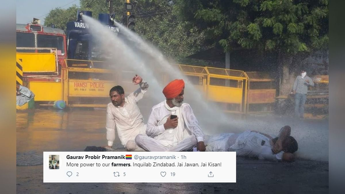 More Power To Farmers: Twitter Reacts to 'Delhi Chalo' Protests