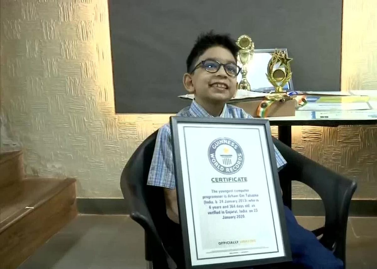 6-Year-Old Boy Declared World's Youngest Programmer by Guinness