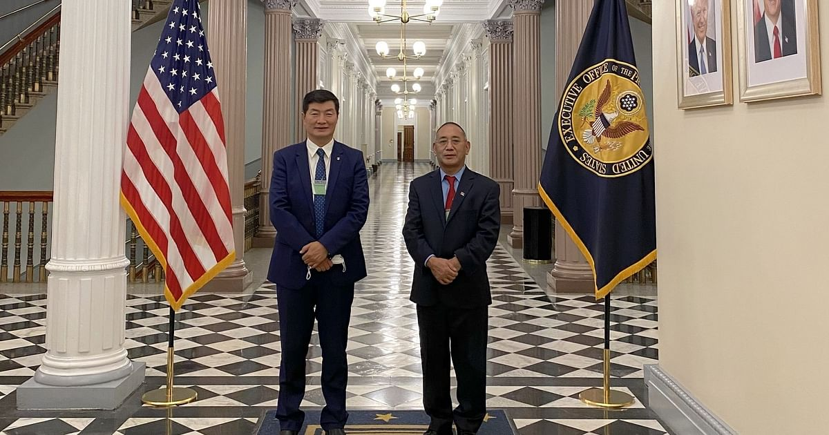 Tibetan Political Leader Visits White House For 1st Time in 60 Yrs