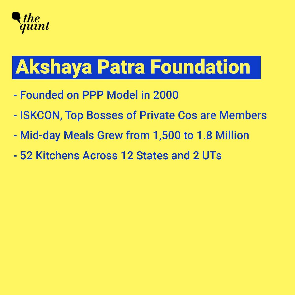 Why Mohandas Pai & Others Resigned From Akshaya Patra Foundation