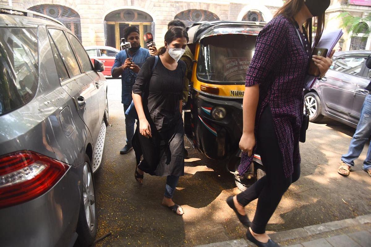 Karishma Prakash at the NCB office.