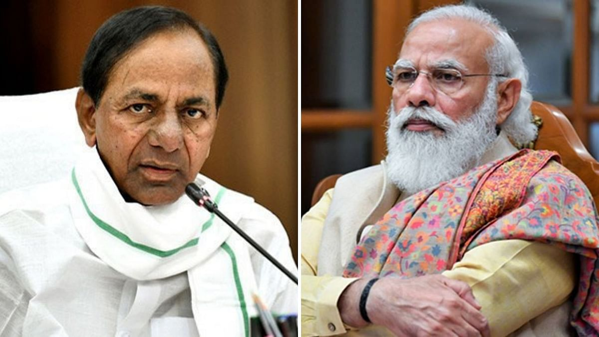 A day after Prime Minister Modi's visit to Hyderabad, controversy is now brewing about CM KCR not having been invited to receive the Prime Minister.