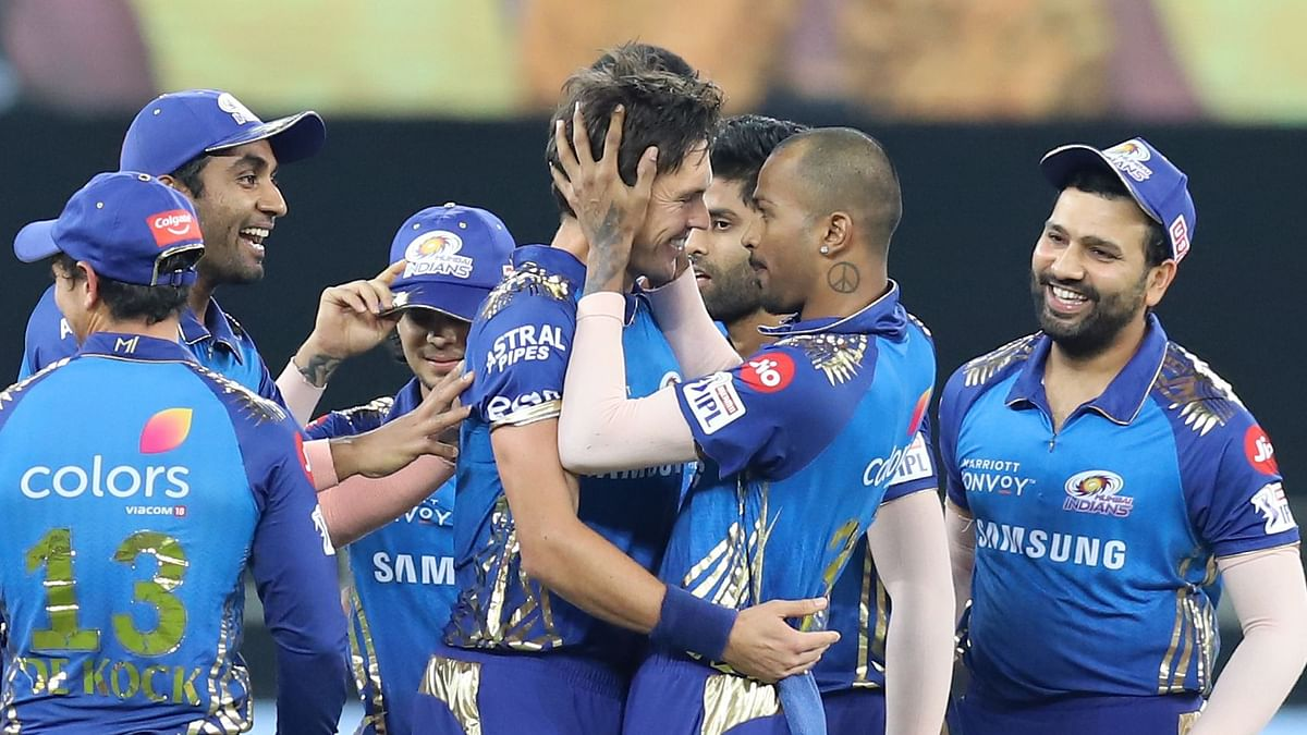 Twitter celebrates as Trent Boult picks 2 wickets in the first 3 of the IPL final between Mumbai Indians and Delhi Capitals.