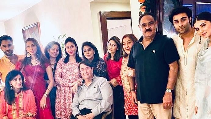 Kapoor Family Gets Together For Grand Karva Chauth Dinner
