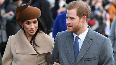 Prince Harry and Meghan Markle .