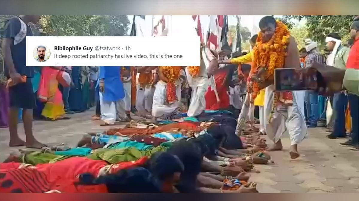 Twitter Reacts to Chattisgarh Priests Walking on Women's Backs