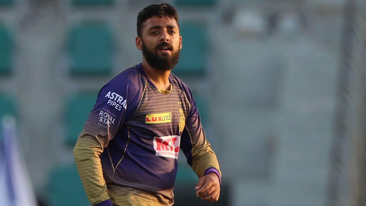 Varun Chakravarthy had contracted COVID-19 during the IPL.