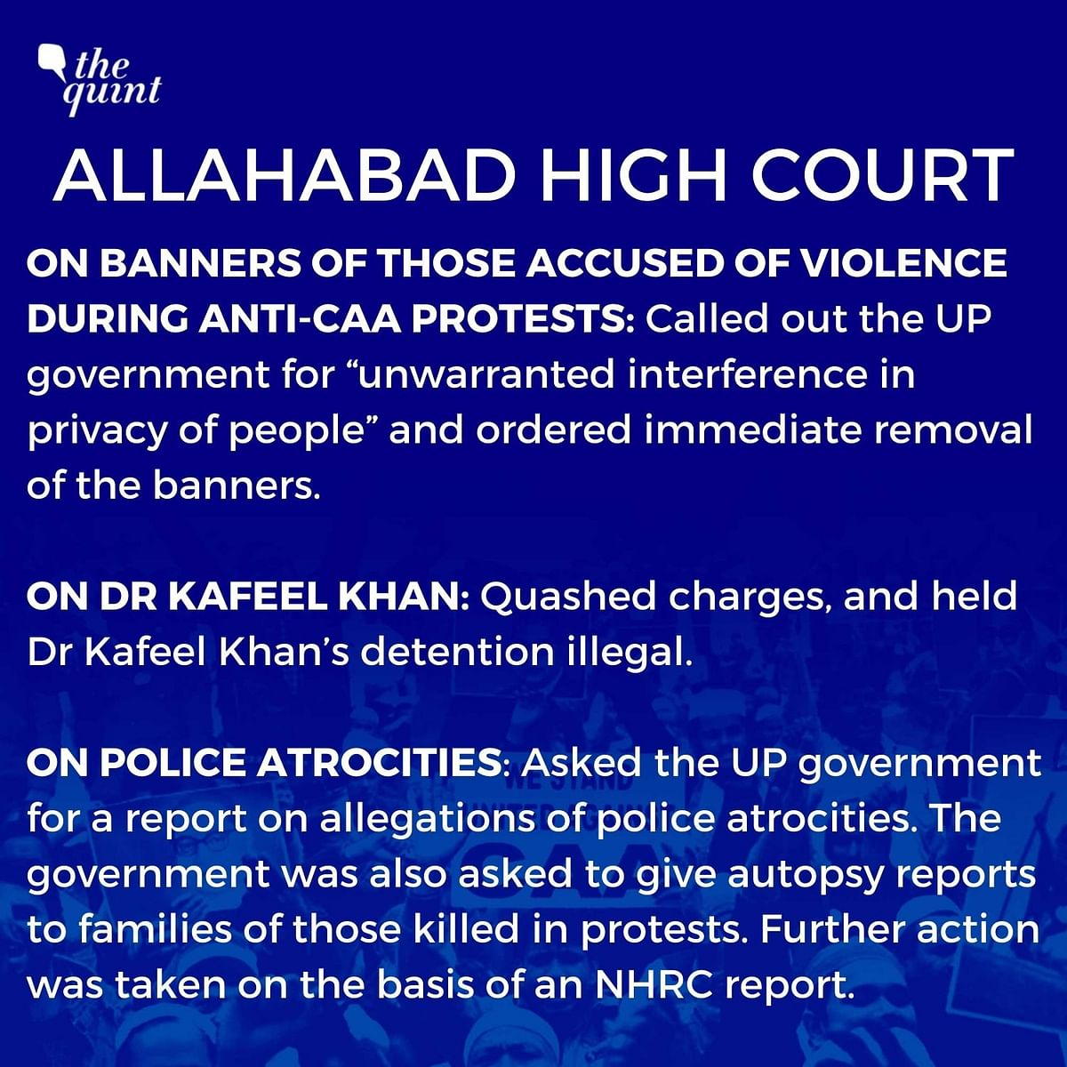 1 Year of CAA: How High Courts Stood By Protesters When SC Didn't