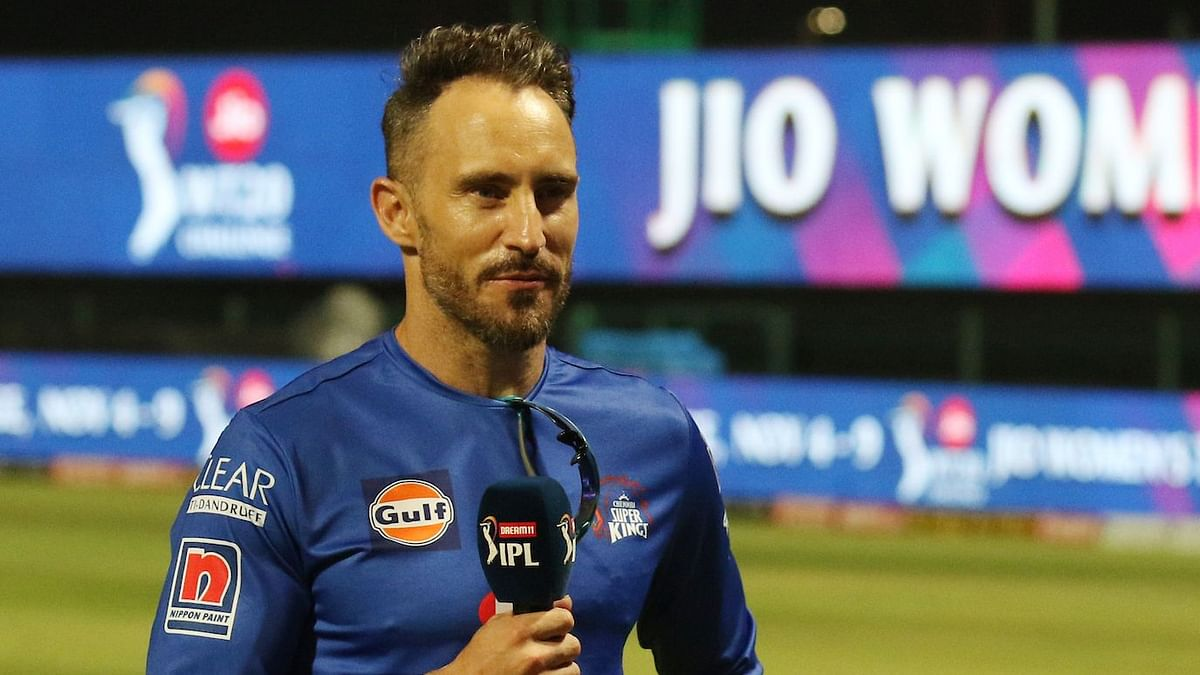 Faf du Plessis said that Ruturaj Gaikwad has shown a lot of composure and also reflected on his season personally.