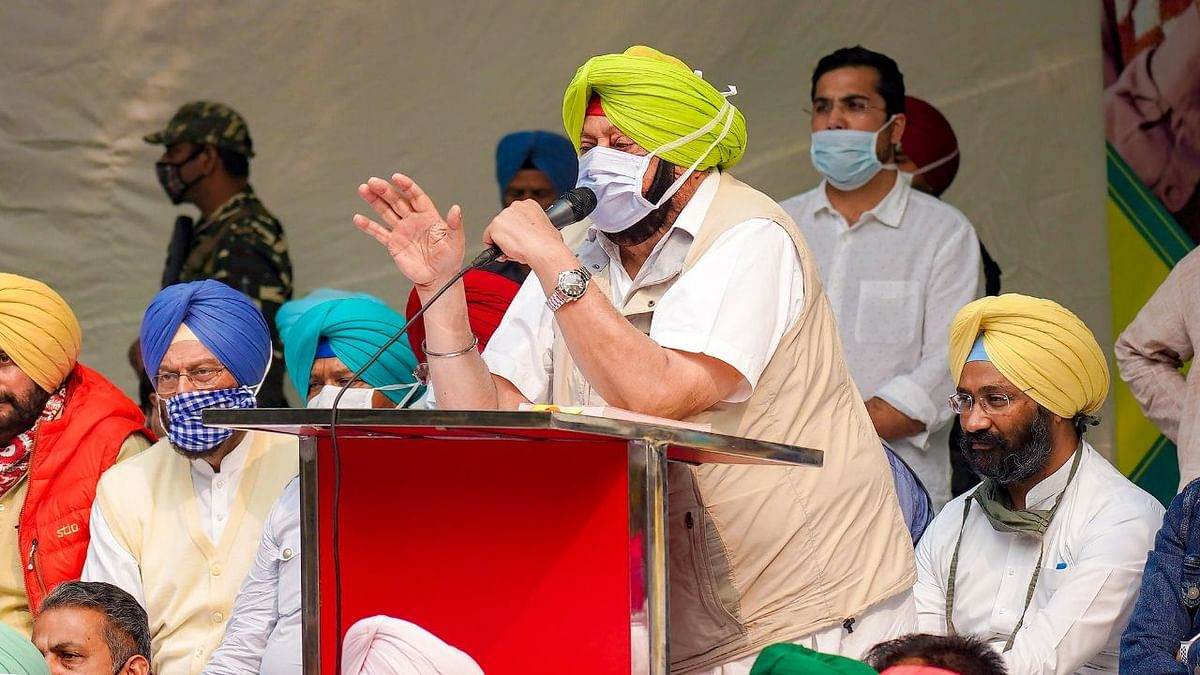 'Govt's Attitude Towards Farmers Not Right': Punjab CM On Dharna