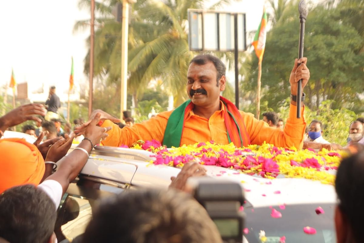 L Murugan is the state president of BJP in Tamil Nadu.