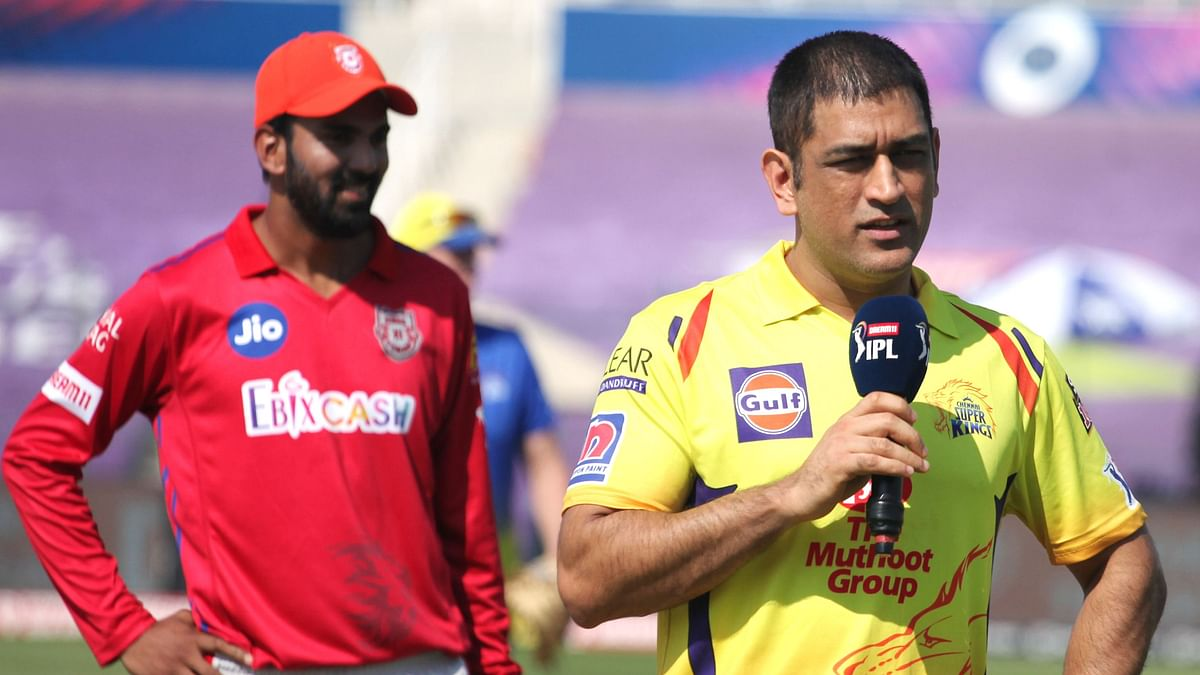 His Last Game in Yellow? 'Definitely Not,' Says Dhoni  at Toss