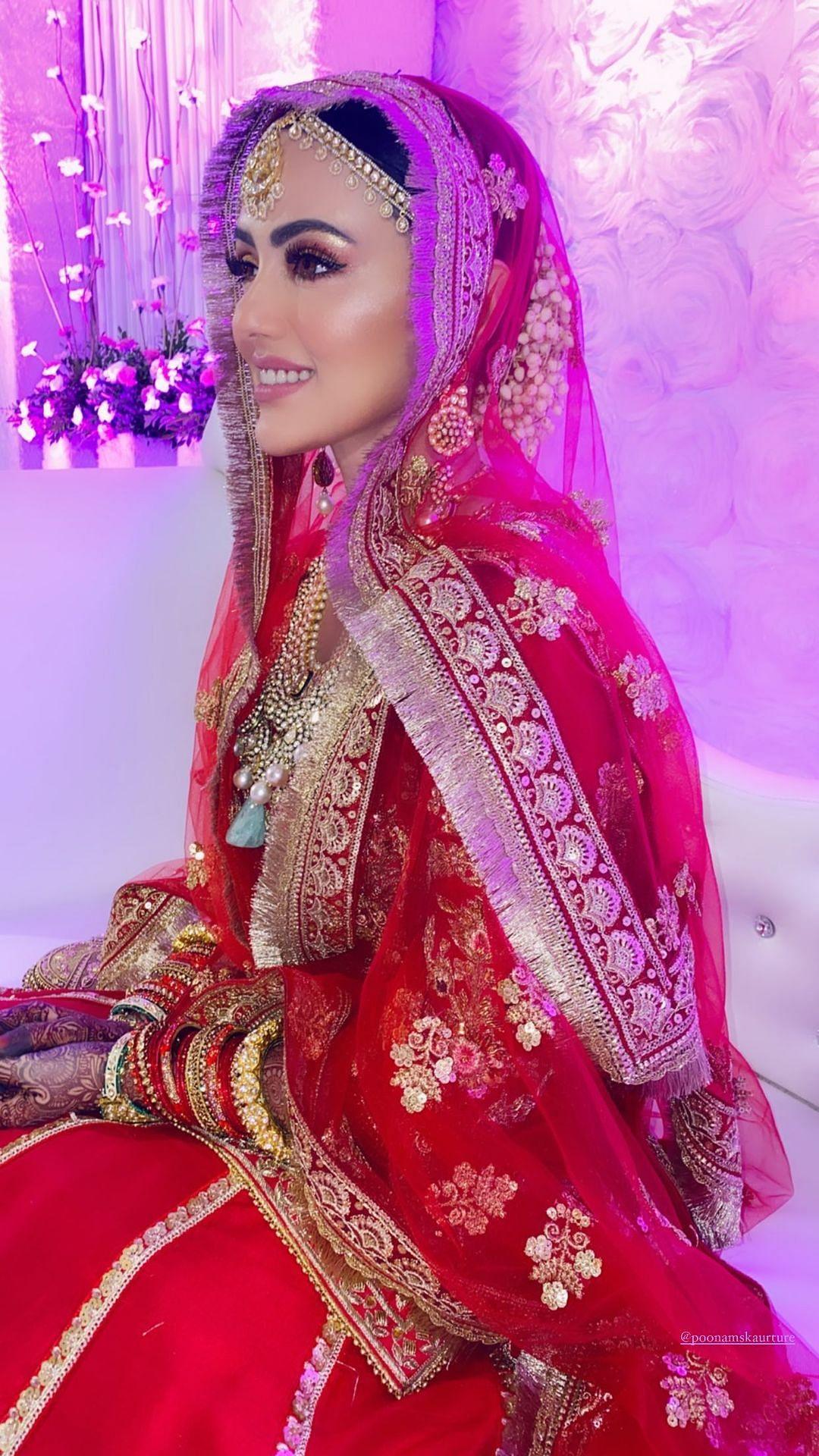 Ex-Bigg Boss Contestant Sana Khan Shares Photos From Her Wedding