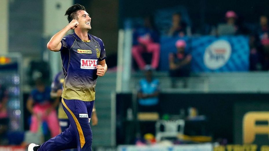 KKR's pace ace Pat Cummins bowled brilliantly against RR to keep their hopes for a top four place alive till the last game.