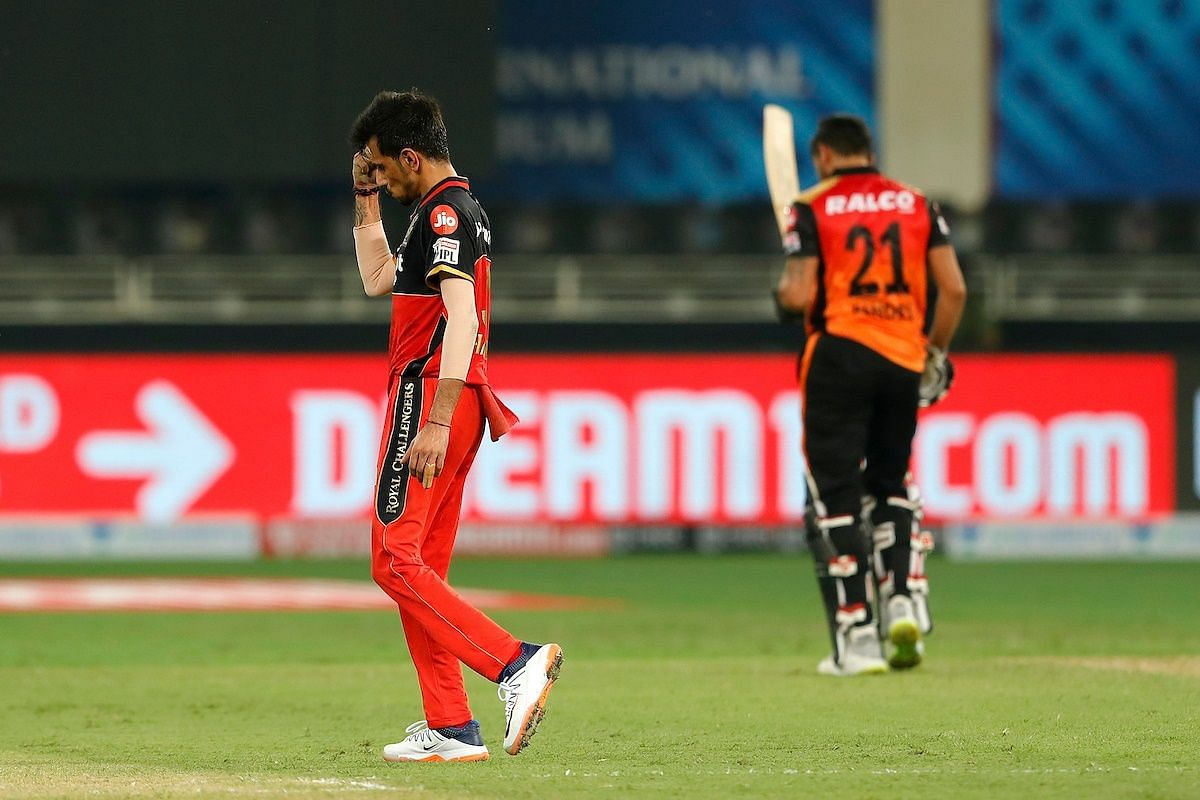 Yuzvendra Chahal applies the brakes on SRH's batting in trademark style.