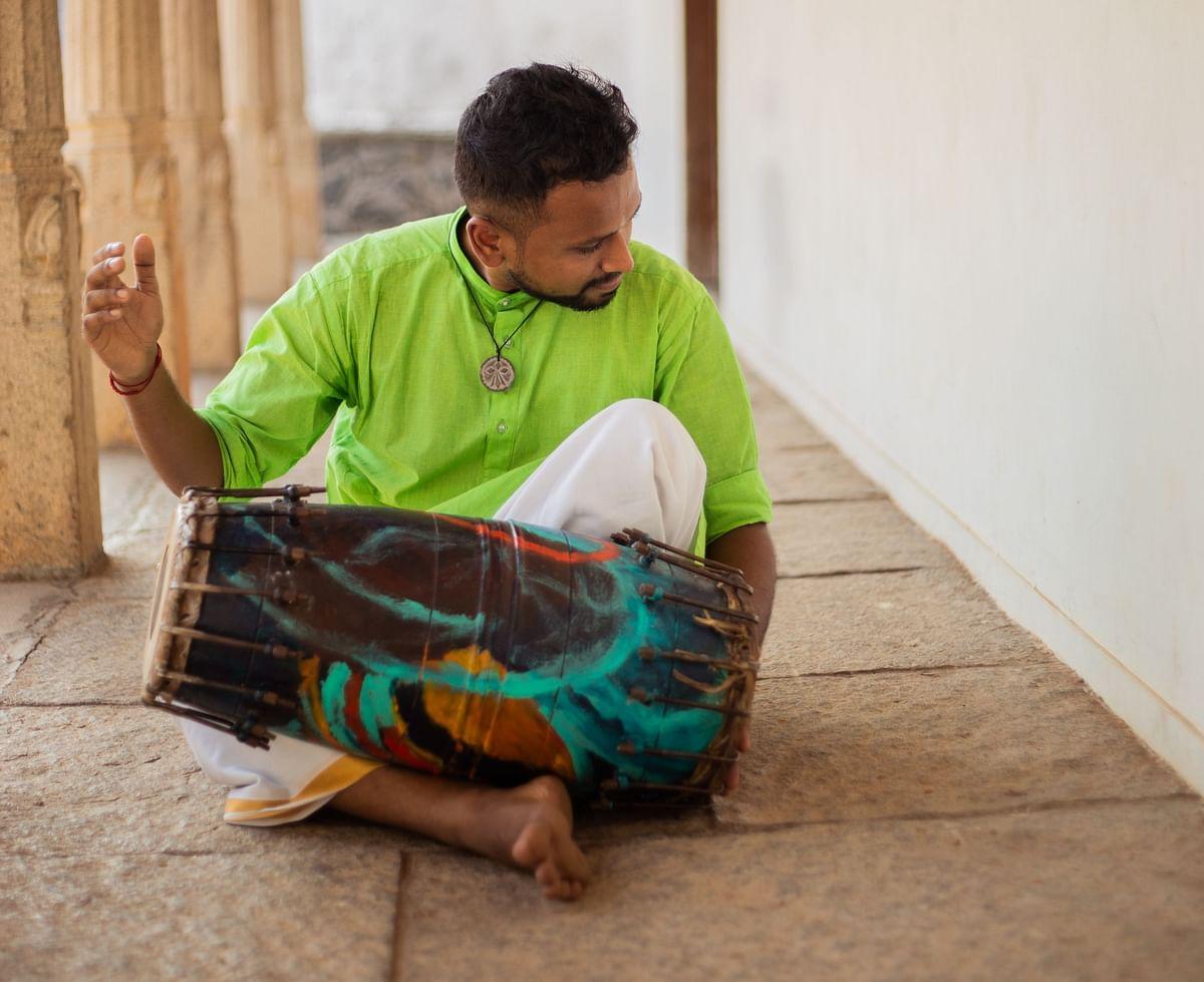 Meet Praveen Sparsh, the <i>mridangam </i>player