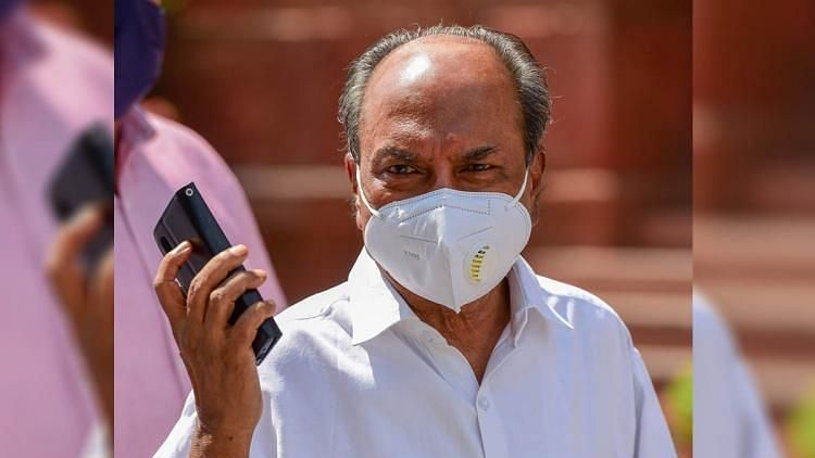 Senior Congress Leader AK Antony Tests Positive for COVID-19